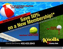 Knolls Membership Special Postcard