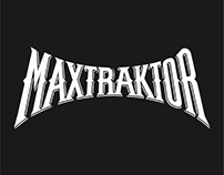 Maxtraktor | Band Logo & Stickers