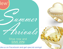 Eternal Sparkles E-Blasts and Slide Show Banners