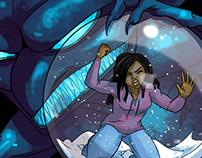 Snow, a comic