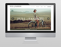 Full of Fashion webdesign