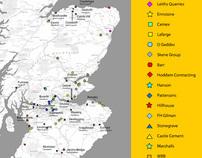 Tarmac quarries - flash map
