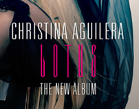 Christina Aguilera Lotus Ads