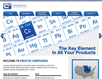Creative Compounds Website