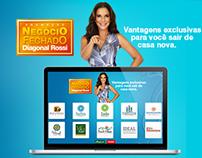 Promoção Negócio Fechado Diagonal - HTML5