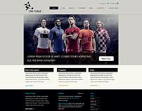 Olé Futsal logo & website design