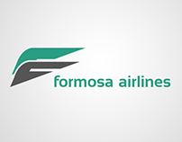 Formosa Airlines Branding