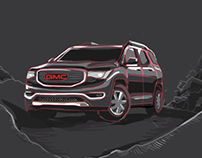 GMC Social Campaign illustration, storyboard &Animation