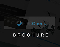 Hubcheck - Brochure Design