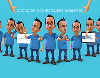Character City 3D: Cuper presents