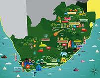 Maps for SA tourism