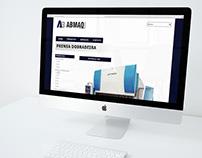 Website & Graphic Design - ABMAQ