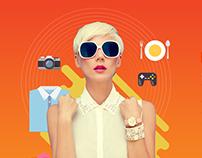Creative Agency Website Mockup