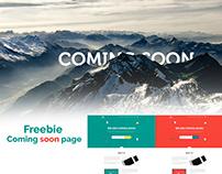 Freebie Coming soon page