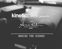 Kinetic Pixel's Anna Ruohonen BTS
