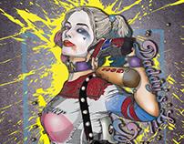 Illustration - Harley Quinn