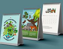 WWF Indonesia 2019 Calendar
