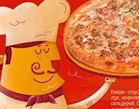 Flipper pizza