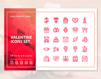 FREE VALENTINE ICON SET