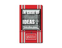 """""""In Case of Brilliant Ideas"""" - Handbook design"""