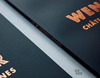 """Spiritueux & Champagnes 2013"" Print Design"