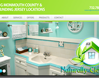 Naturally Clean Website Redesign