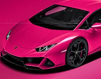 Lamborghini Huracan EVO French Rose