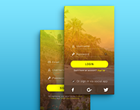 Fruity Landing Pages, Vol. 1 - Banana