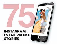 75 Instagram Event Promo Stories