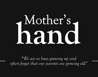 [Y2S2] Photography - Mother's hands