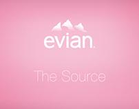 Evian, The Source # Projet de refonte