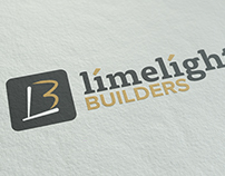 Limelight Builders Logo Design