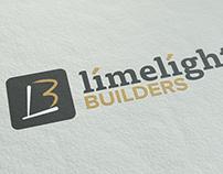 Limelight Builders Logo Design