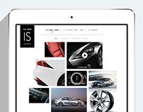 Lexus.com redesign