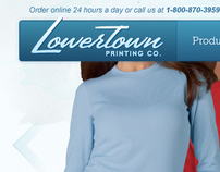 Lowertown Printing Website