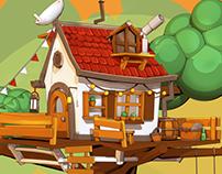 3D Cellshading   Treehouse