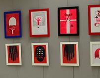 AUTOIRONIC illustration exhibition