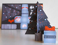 Mission Media Holiday Card