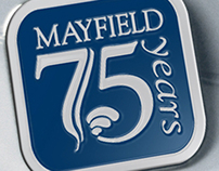 Mayfield Clinic 75th Anniversary logo