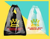 Plastic Bag Mock ups