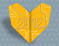 Somfy - carte voeux 2012