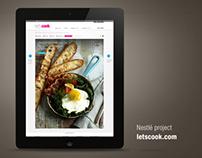 Let's Cook # Projet Nestlé