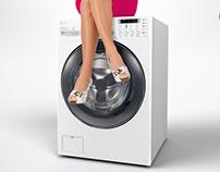 LG 15 Kg Washing Machine