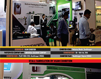 PLAST INDIA #STALL #FABRICATION BY VAAM EXHIBITION.