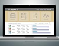 DeluxQR Dashboard UI - QR Code & NFC Portal Sneak Peek