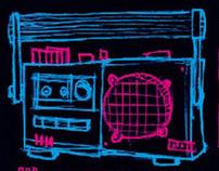Boombox,Radio and Co