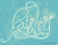 Paisley Lettering & Pattern