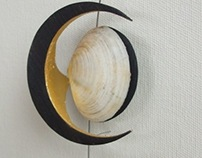 detail of crescent moon