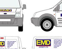 Vehicle Graphics - EMD Joinery Ltd
