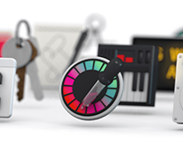 Utility 3D Icons